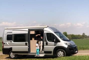Wohnmobil mieten in Hannover von privat | Pössl Lucas