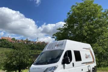 Wohnmobil mieten in Rothenburg ob der Tauber von privat | Weinsberg  SkyCamper