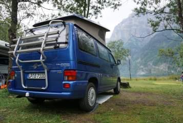 Wohnmobil mieten in Lippstadt von privat | VW T4 california blue