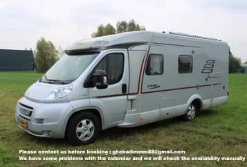 Wohnmobil mieten in Enschede von privat | Hymer Happy CAMPER