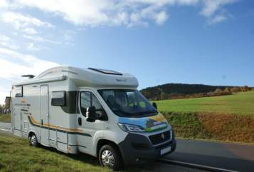 Wohnmobil mieten in Jena von privat | SunLiving Fiat Sun Living 45SP Lido Hybrid Rocky Fiat