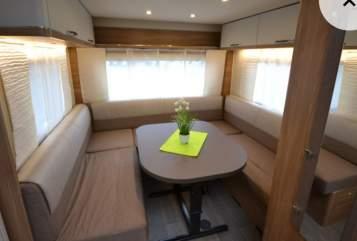 Wohnmobil mieten in Rodgau von privat | Bürstner Leder
