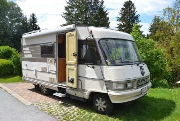 Wohnmobil mieten in Graz von privat | Hymer Herbert on tour