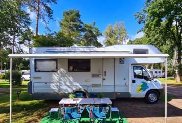 Wohnmobil mieten in Haan von privat | Fiat Ducato Manfred