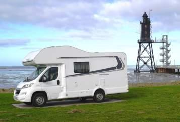 Wohnmobil mieten in Cuxhaven von privat | Weinsberg Kurt