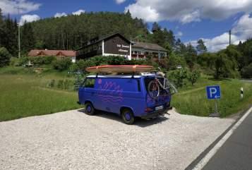 Wohnmobil mieten in Krombach von privat   Volkswagen Möhre