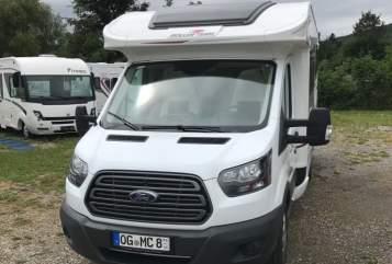 Wohnmobil mieten in Offenburg von privat   Roller Team Autoroller 266 TL  Emmi