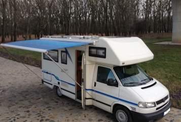 Wohnmobil mieten in Schönebeck (Elbe) von privat | Volkswagen T4  Karmi