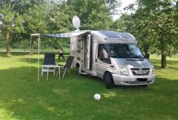 Wohnmobil mieten in Berg von privat | Hymer  Hans im Grünen