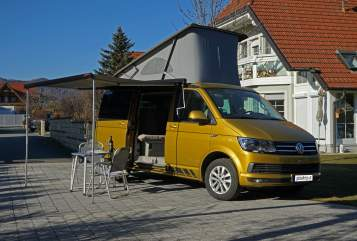 Wohnmobil mieten in Thal von privat | VW T6 California Theo