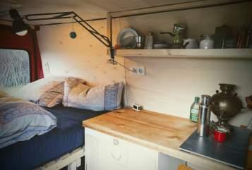 Wohnmobil mieten in Schwaan von privat | Fiat Schnecke