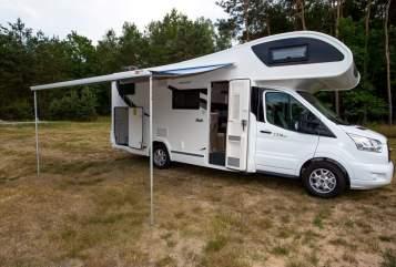 Wohnmobil mieten in Kolkwitz von privat   Ford Chausson Flash C 714 GA