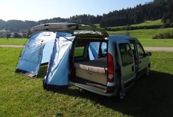Wohnmobil mieten in Sonthofen von privat | Renault allgäuKangoocamper