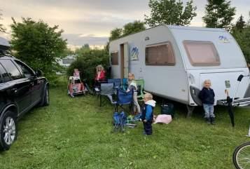 Wohnmobil mieten in Ottobrunn von privat | Knaus Südwind  FamilienCamping