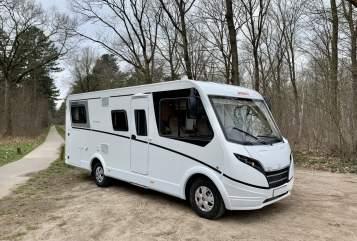 Wohnmobil mieten in Bladel von privat | Dethleffs Globebus nieuw