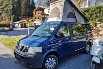 Wohnmobil mieten in Hall in Tirol von privat   VW Blue