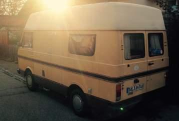 Wohnmobil mieten in Geretsried von privat   Volkswagen Fliegender Goldklumpen
