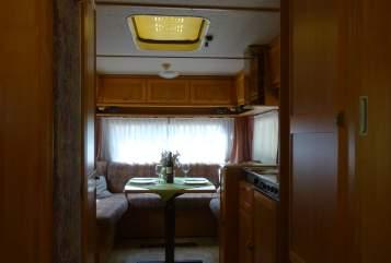 Wohnmobil mieten in Michelfeld von privat | Hymer Eriba  Conny