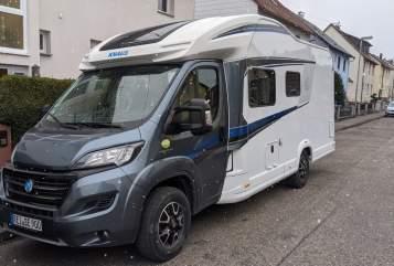 Wohnmobil mieten in Freilassing von privat   Knaus Reise900