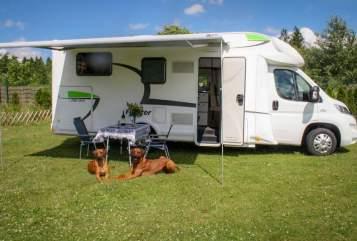 Wohnmobil mieten in Lauterhofen von privat   Euramobil Forster