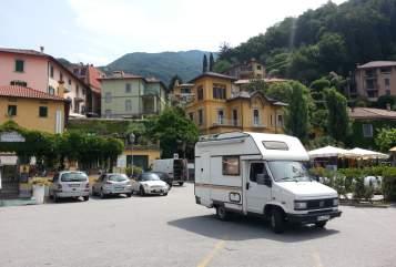 Wohnmobil mieten in Singen (Hohentwiel) von privat | Fiat -JO