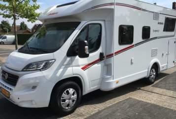 Wohnmobil mieten in Zwolle von privat   Dethleffs Dethleffs Trend T 6717