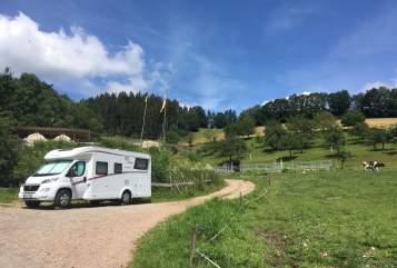Wohnmobil mieten in Sömmerda von privat | Dethleffs Lieblingsplatz:-)