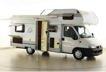Wohnmobil mieten in Nienhagen von privat   Fiat Bürstner Toms Bürstner