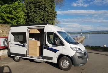Wohnmobil mieten in Heidelberg von privat | Knaus  Nomade mit Alarmanlage und Solar