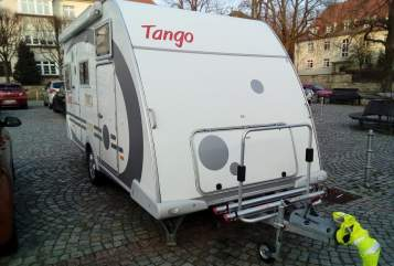 Wohnmobil mieten in Dresden von privat | Knaus Tango 100 km/h