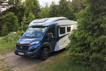Wohnmobil mieten in Tübingen von privat | Knaus Aisha - klimaneutral reisen -