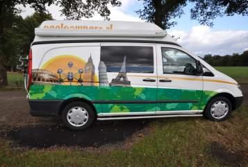 Wohnmobil mieten in Amersfoort von privat | Mercedes Coole camper type 3