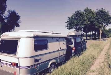Wohnmobil mieten in Kiel von privat   Hymer Lila