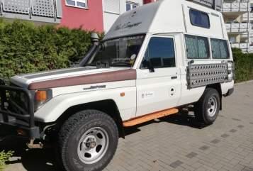 Wohnmobil mieten in Sindelfingen von privat | Toyota Landcruiser  Mate I