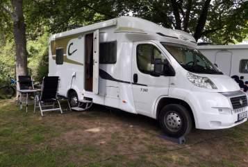 Wohnmobil mieten in Bad Langensalza von privat | Carado Carado T345
