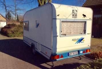 Wohnmobil mieten in Hall in Tirol von privat | Knaus Berti Blue