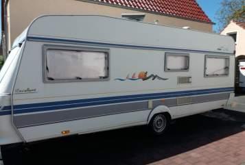 Wohnmobil mieten in Trebur von privat | Hobby Excellent 550 TKM/KMF mit Dachklima  El Rey