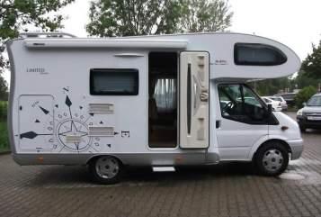 Wohnmobil mieten in Weingarten von privat | Ford Hobby H2 Alkoven