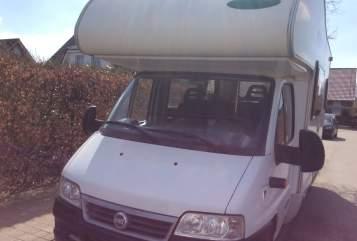 Wohnmobil mieten in Flensburg von privat   Fiat mc lois Rudi