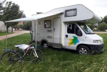 Wohnmobil mieten in Chemnitz von privat   Fiat Ducato Alkoven Womo