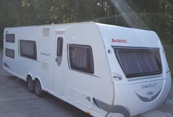 Wohnmobil mieten in Chemnitz von privat   Dethleffs Dethleffs Beduin