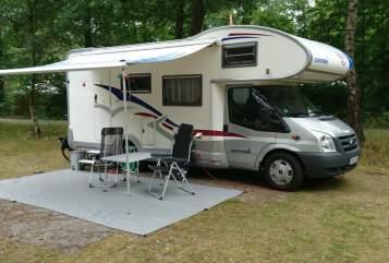 Wohnmobil mieten in Dänischenhagen von privat   Euramobil Klausi