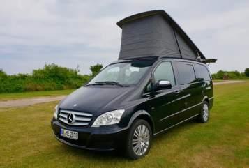 Wohnmobil mieten in Lübeck von privat | Mercedes Viano 3,0 CDI DPF lang Hochstelldach Camperbulli Viano Marco Polo