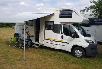 Wohnmobil mieten in Bernau bei Berlin von privat | Fiat Globi 2