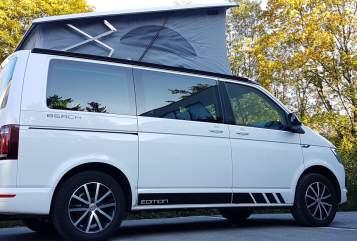 Wohnmobil mieten in Vaterstetten von privat | VW T6 California Beach Kids-Bulli NEU!