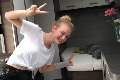 Wohnmobil mieten in Blaichach von privat | Knaus Knäuschen