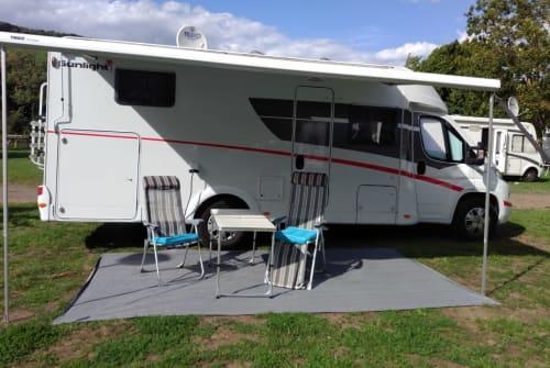 Wohnmobil mieten in Lotte von privat | Sunlight Dreammobil
