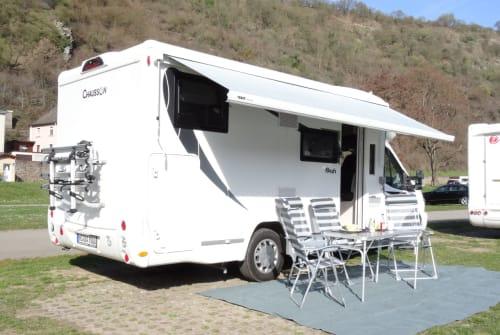 Wohnmobil mieten in Wegberg von privat   Chausson Chaussie