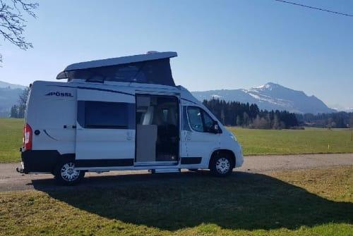 Wohnmobil mieten in Sulzberg von privat | Pössl Familiencruiser