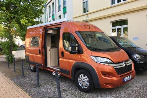 Wohnmobil mieten in Güstrow von privat   Clever Orange Dream